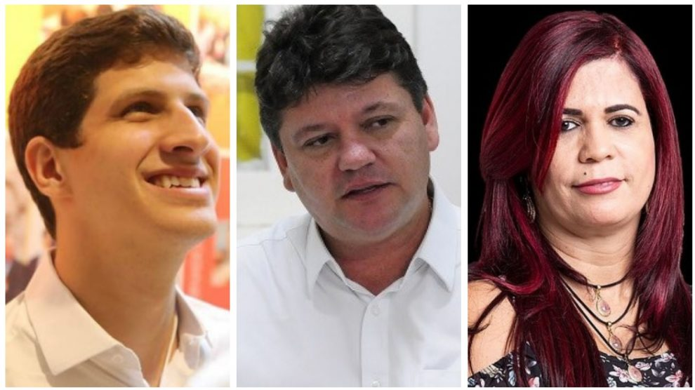 João Campos, Slleno Guedes e Gleide Angelo