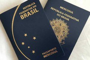 Chanceler quer a volta do passaporte com a capa ostentando brasão do Brasil. Foto: Reprodução