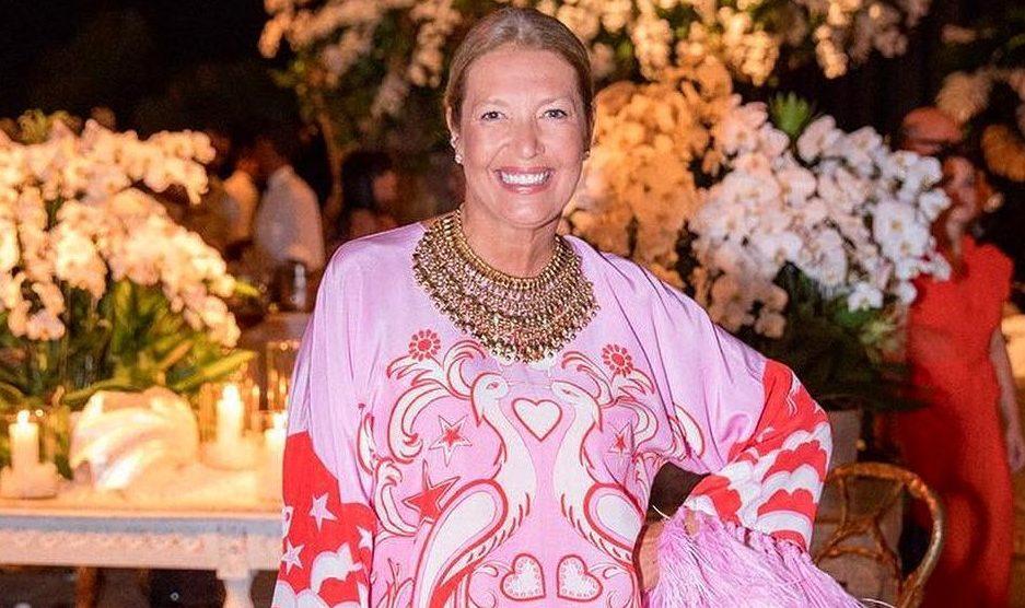 167fe64972985 Donata Meirelles na sua festa de 50 anos - Foto  Reprodução Instagram