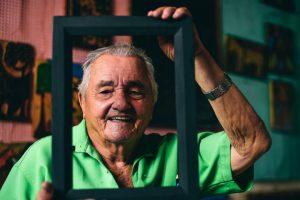 J. Borges - Foto: Alfeu Tavares/Folha de Pernambuco