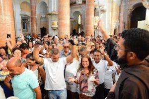 Celebração da Bênção de São Félix na Basílica da Penha - Foto: Arthur Mota