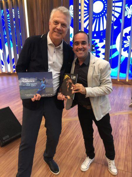 Pedro Bial e Marcelo Andrade - Foto: Cortesia