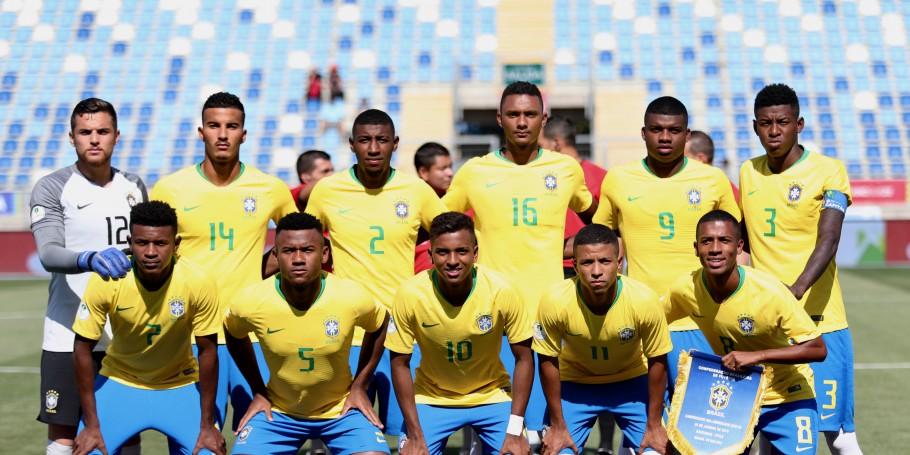 Seleção Brasileira Sub-20 - Foto: CBF/Divulgação