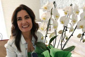 Fátima Bernardes recebeu os mimos do namorado, o deputado Túlio Gadêlha - Foto: Instagram/Reprodução