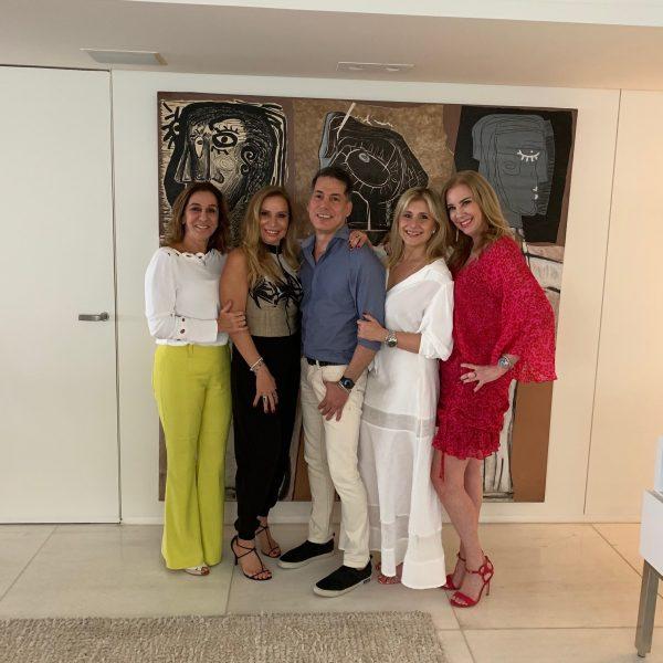 Rose Porpino, Patrícia Gomes, Creso Rufino, Sueli Mendonça e Sophia Lins - Foto: Joyce Oliveira