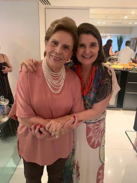 Geralda Farias e Celina Menezes - Foto: Joyce Oliveira