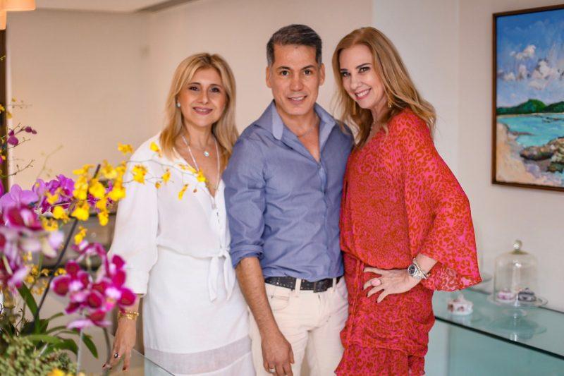 Sueli Mendonça, Creso Rufino e Sophia Lins - Foto: Joyce Oliveira