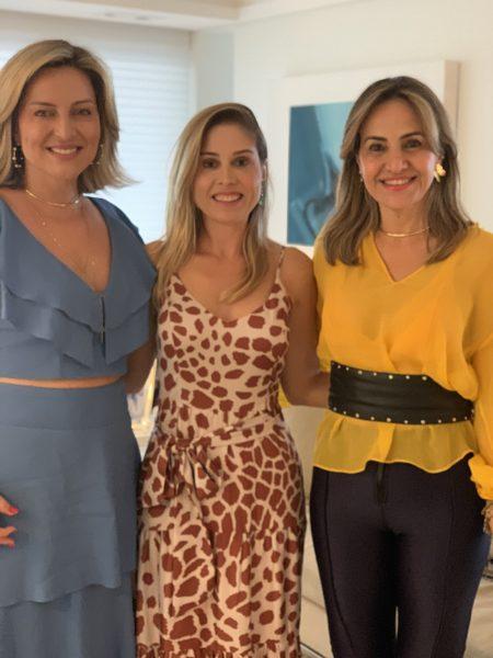 Lana Bandeira, Nara Mendonça e Socorrinho Almeida - Foto: Joyce Oliveira