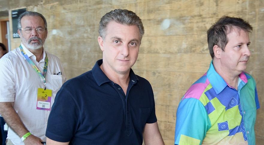 Raul Jungmann, Luciano Huck e Pierre Lucena - Foto: José Britto/FolhaPE