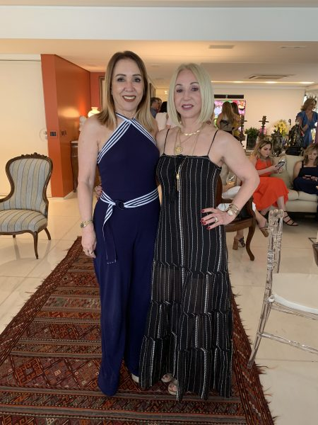 Taciana Bravo e Simone Corte Real - Foto: Joyce Oliveira