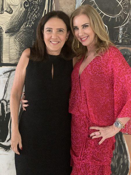 Wilma Figueiredo e Sophia Lins - Foto: Joyce Oliveira