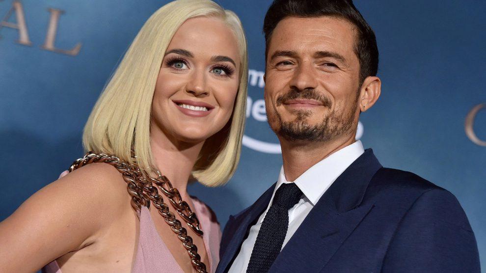 Katy Perry e Orlando Bloom - Foto: Reprodução.