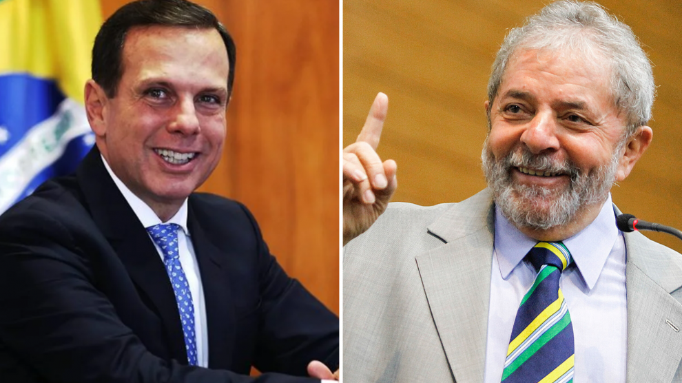 Doria e Lula - Foto: Reprodução.