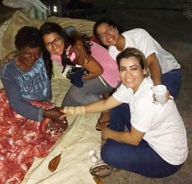 Caravana Tio Chico apoia pessoas em situação de rua (Foto tirada antes da pandemia do coronavírus) - Foto: Cortesia