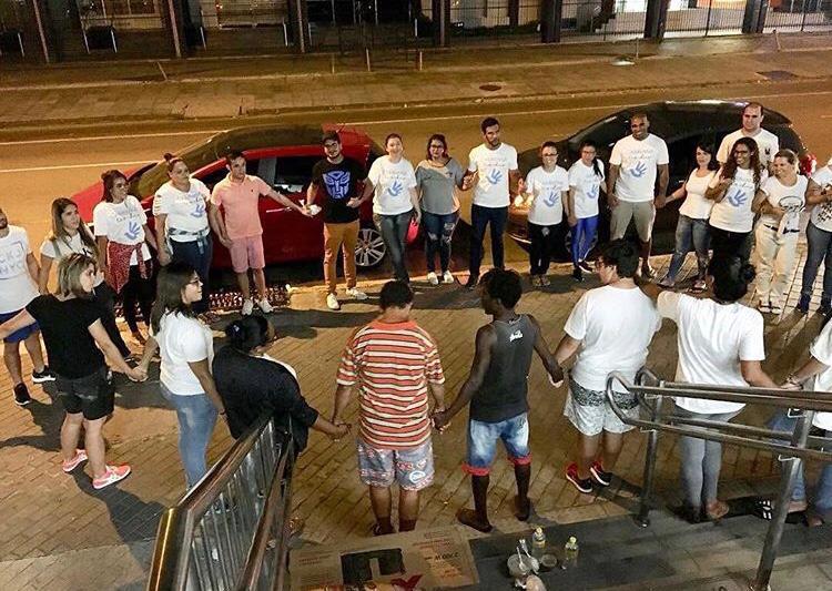 Caravana Tio Chico apoia pessoas em situação de rua (Foto tirada antes da pandemia do coronavírus) - Foto: Divulgação.
