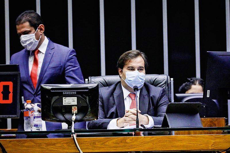 Maia é a quinta pessoa a confirmar a infecção após ter ido à posse de Luiz Fux para a presidência do STF na semana passada
