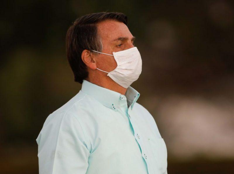 O presidente solicitou a liberação apesar do ainda alto número diário de casos do novo coronavírus e mortes pela doença no país. Jair Bolsonaro