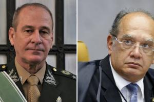 Ministério da Defesa vai acionar PGR contra Gilmar Mendes