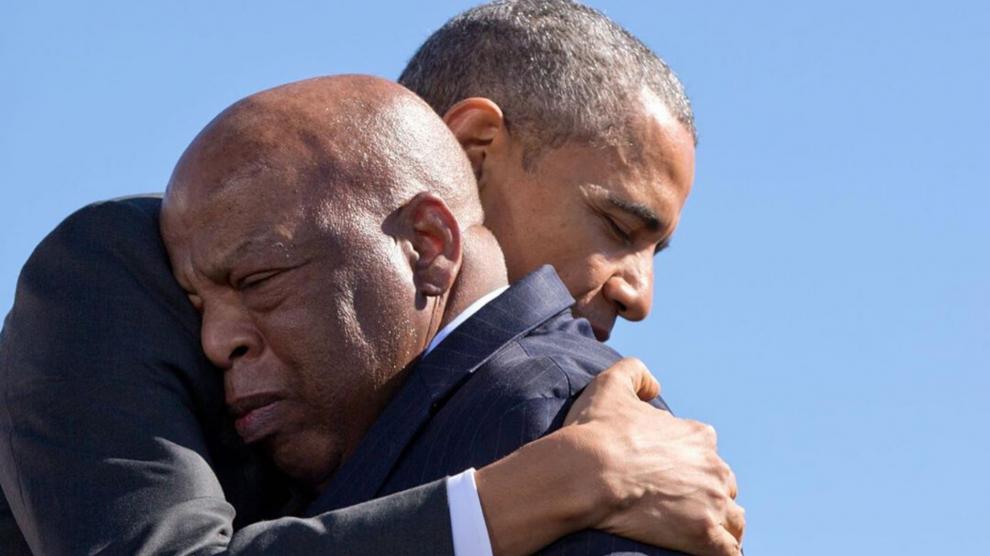 Obama homenageia John Lewis, pioneiro na luta pelos direitos civis