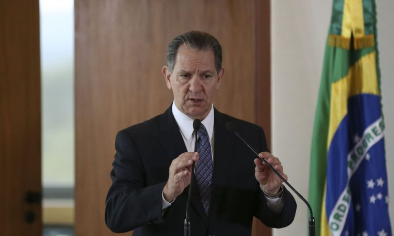 O presidente do Superior Tribunal de Justiça (STJ), ministro João Otávio de Noronha, no Supremo Tribunal Federal (STF)