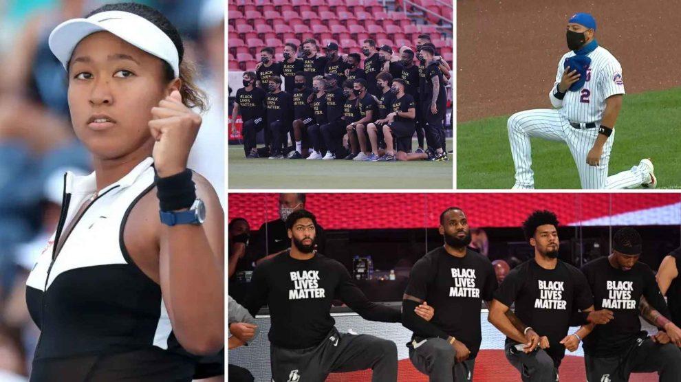 Futebol, tênis e beisebol se unem à NBA em protesto antirracista