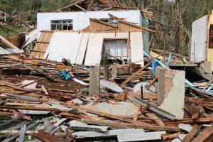 Município de Santa Catarina decreta calamidade após tornado