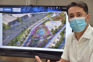 Anderson Ferreira apresenta projeto do maior parque urbano da RMR
