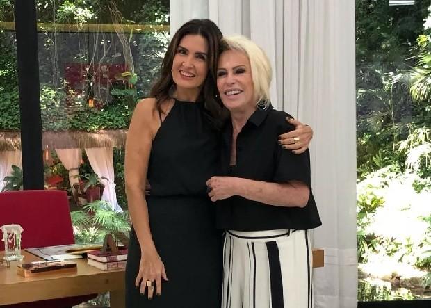 Ana Maria Braga manda mensagem de apoio para Fátima Bernardes