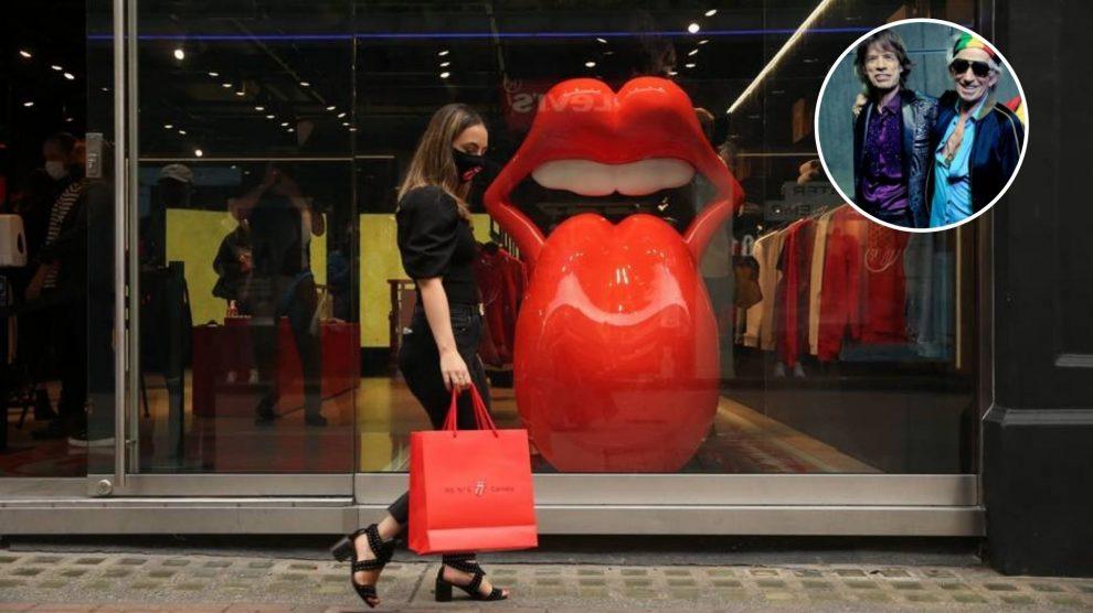 Rolling Stones abrem sua primeira loja em Londres