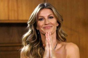 Gisele Bündchen vai participar de live beneficente
