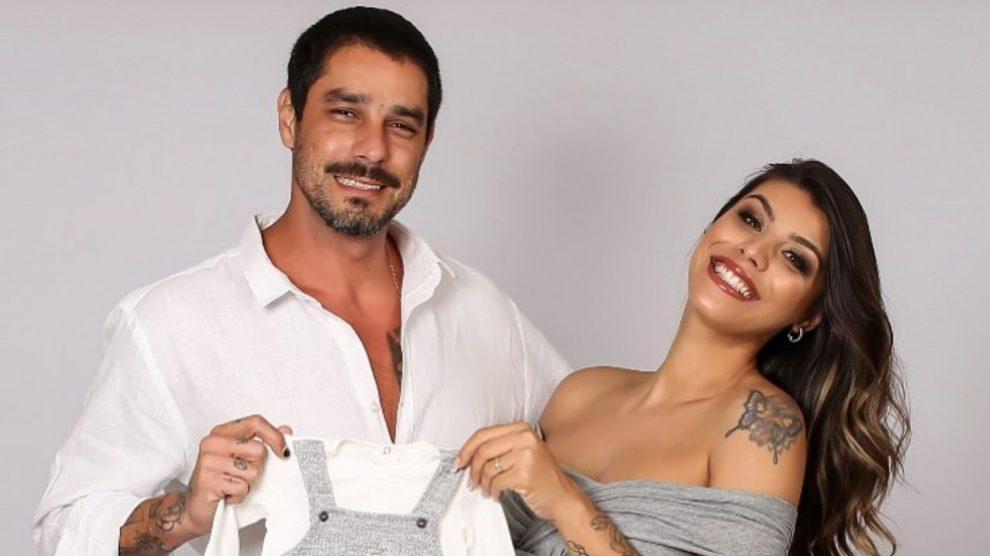 Ex-BBBs Franciele e Diego celebram chegada do primeiro filho - Foto: Reprodução/Instagram.