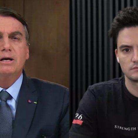 Bolsonaro e Felipe Neto na lista dos 100 mais influentes da 'Time'