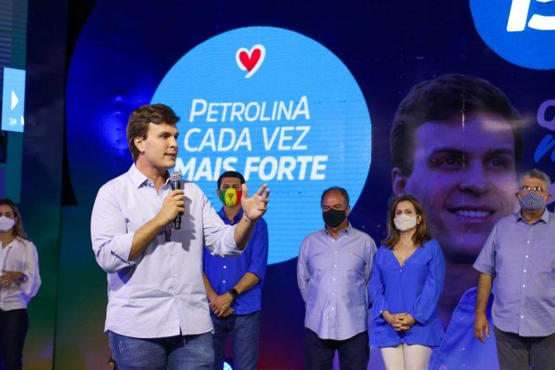 Atual prefeito de Petrolina e advogado por formação, Miguel Coelho pleiteia a reeleição pelo MDB