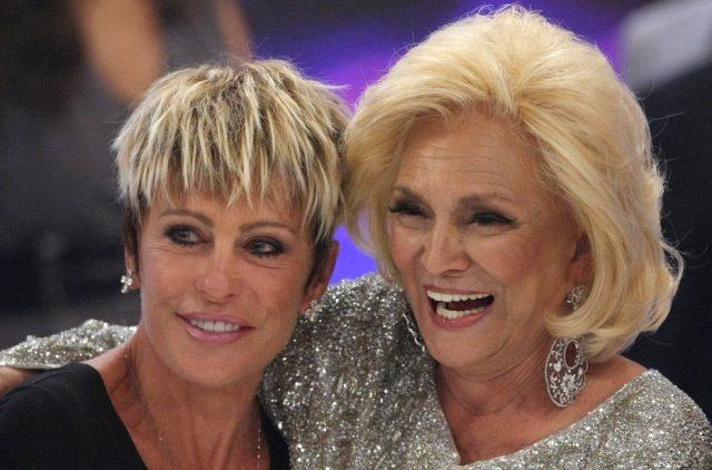 Ana Maria Braga relembra momento com Hebe Camargo