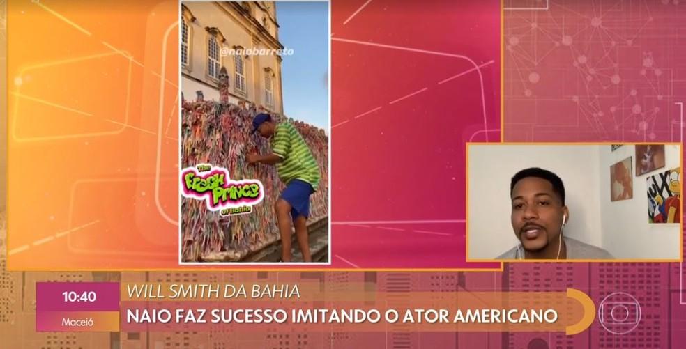 Estudante de publicidade faz sucesso como 'Will Smith baiano'