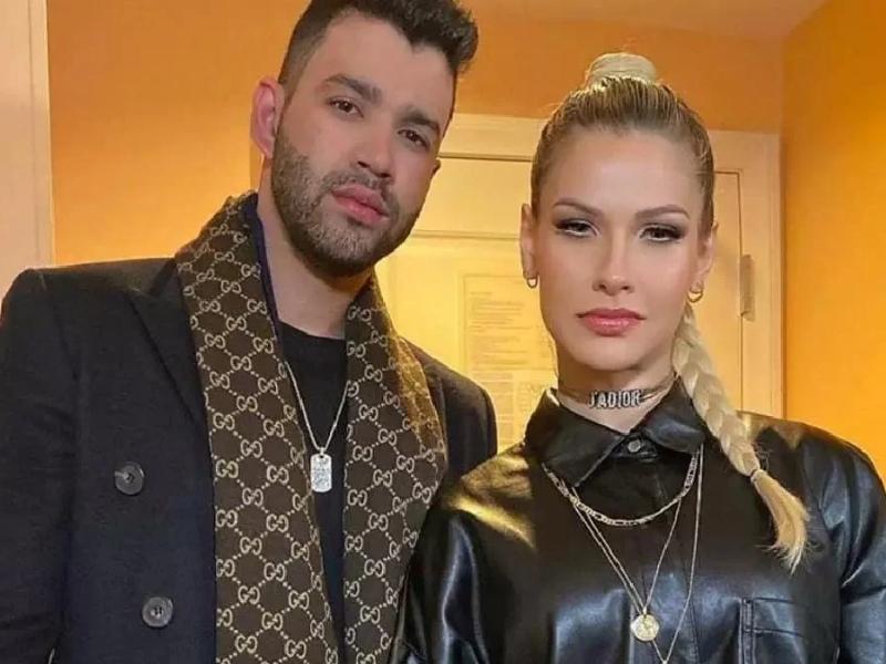 Andressa entra na Justiça para pedir divórcio de Gusttavo Lima