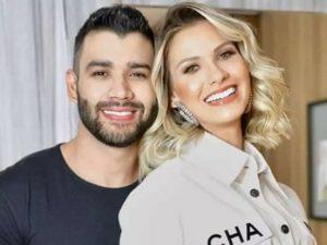 Chega ao fim casamento de Gusttavo Lima eAndressa, diz colunista