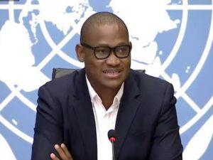 Porta-voz de programa da ONU descobre Nobel da Paz em reunião