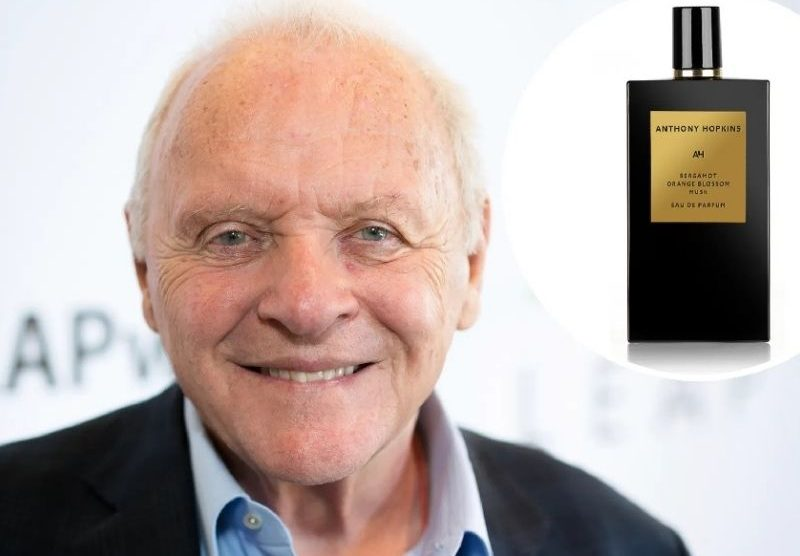 Anthony Hopkins lança fragrância de perfume com lucro para ONG