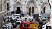 Ataque a faca deixa três mortos e vários feridos na França