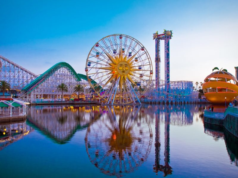 Os parques de diversão devem seguir protocolos rígidos durante reabertura