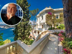 Mansão de Sean Connery na Riviera Francesa é colocada à venda
