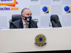 Presidente do TRE-PE agradece eleitores por votação tranquila