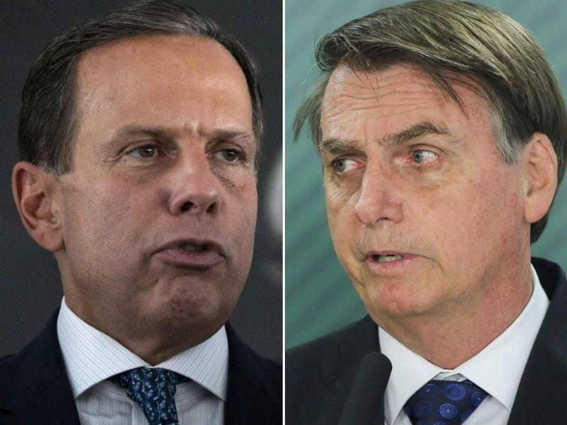 """Bolsonaro diz que """"ganhou"""" de Doria, após suspensão da Coronavac"""