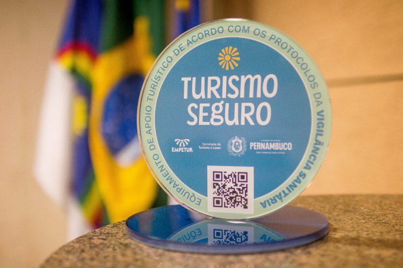 Selo Turismo Seguro - Foto: Divulgação/Secretaria de Turismo de Pernambuco