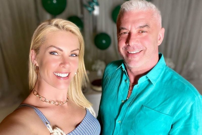 Ana Hickmann e marido Alexandre Correa