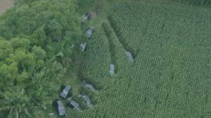 Polícia encontra 10 carros de luxo usados no assalto de Criciúma