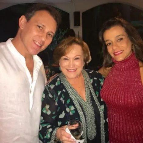 Paulo G. Filho homenageia à mãe, Nicette Bruno, intubada com Covid