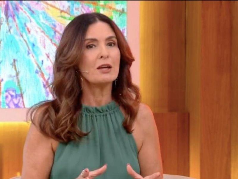 Fátima Bernardes se emociona ao voltar ao 'Encontro' após cirurgia
