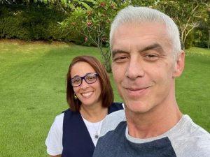 Alexandre Correa agradece técnica de saúde que atuou no tratamento